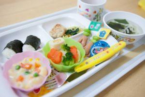 病児保育の給食