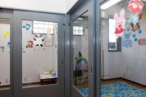 病児保育の隔離部屋